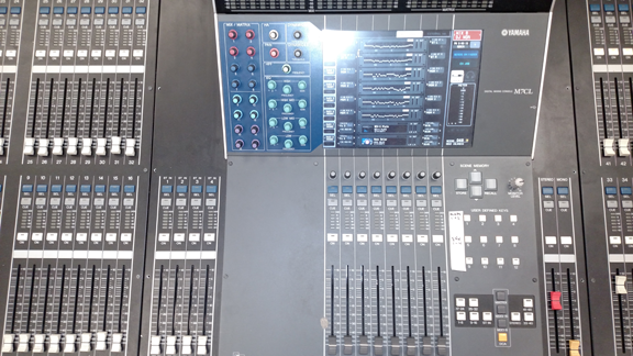 Yamaha M7CL Large format mixing board