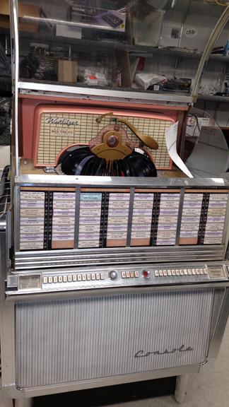 50's Wurlitzer Juke repaired mechanism, recapped