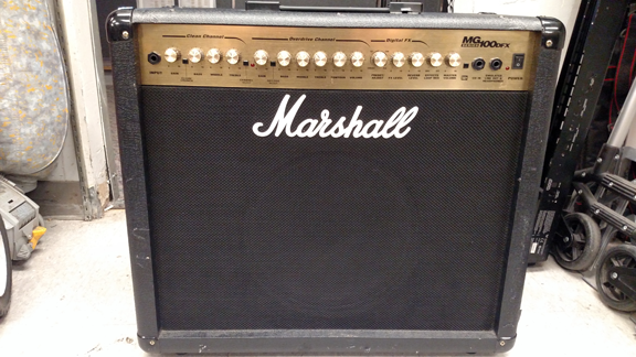 Marshall MG100 Output module Replacement