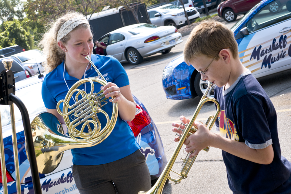 Instrument Petting Zoo in Grandville