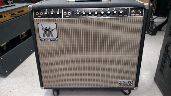 Music Man retube and bias repaired wiring replaced reverb tank