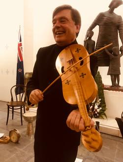 5-string medieval fiddle