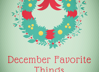 December Favorite Products and Reviews