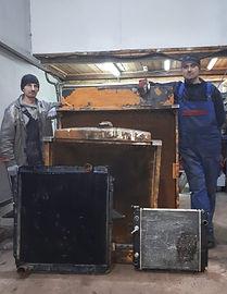 Ремонт радиаторов грузовых, легковых авт