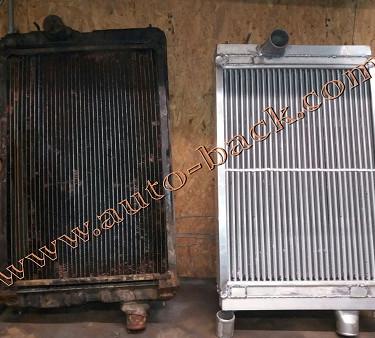 Изготовление нового радиатора по образцу