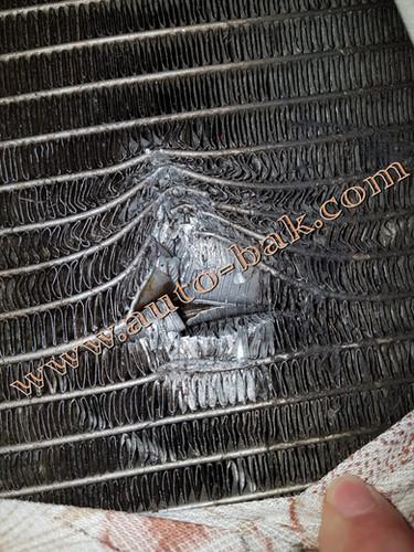 Ремонт радиатора Форд Ford... Гарантия о