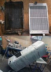 Изготовление нового радиатора, ремонт бензобака - любой сложности!