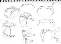 Sagem concept wrist watch 2005