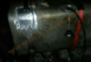 Ремонт латка бензобака грузовика Iveco (Айвеко)