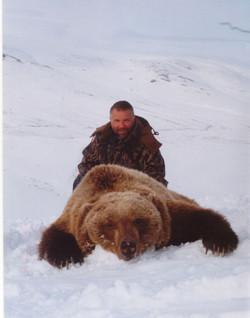 Hunt Grizzly Bear AK
