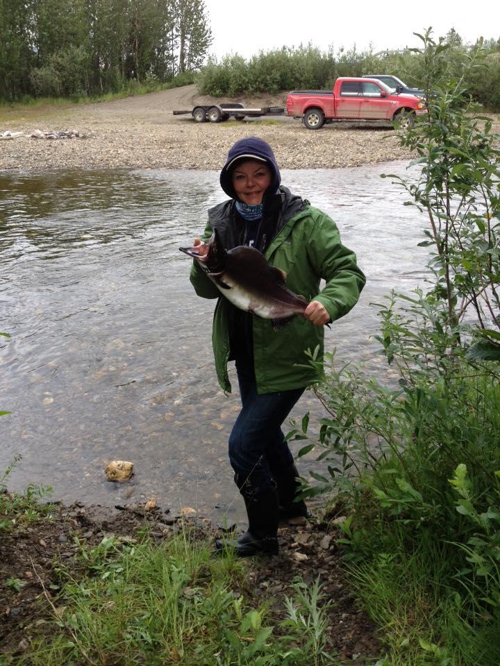 Deb Fishing 1