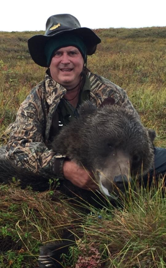 Dr Robin Horrell - Fall Grizzly