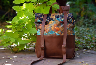 Sedona Geometric Pattern Atlas Backpack