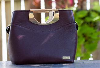 Burgundy 5th Avenue Handbag