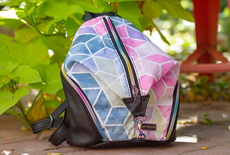 Multicolor Geo Mini Denver Backpack