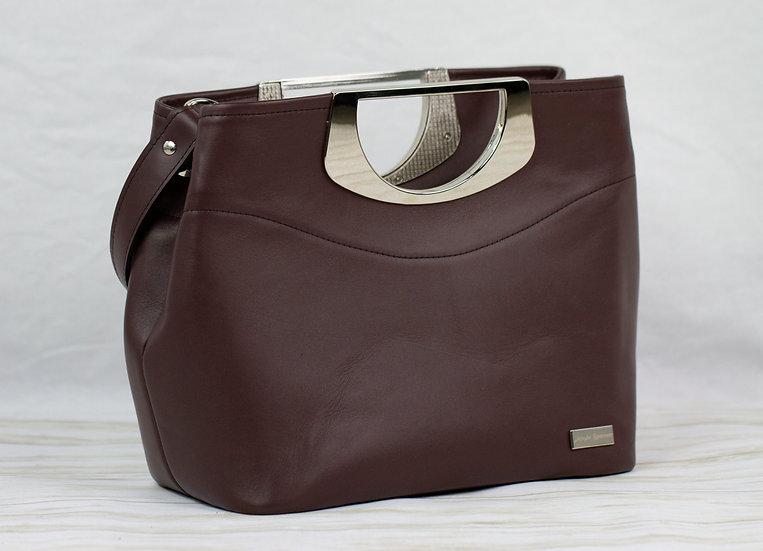 Oxblood 5th Avenue Handbag