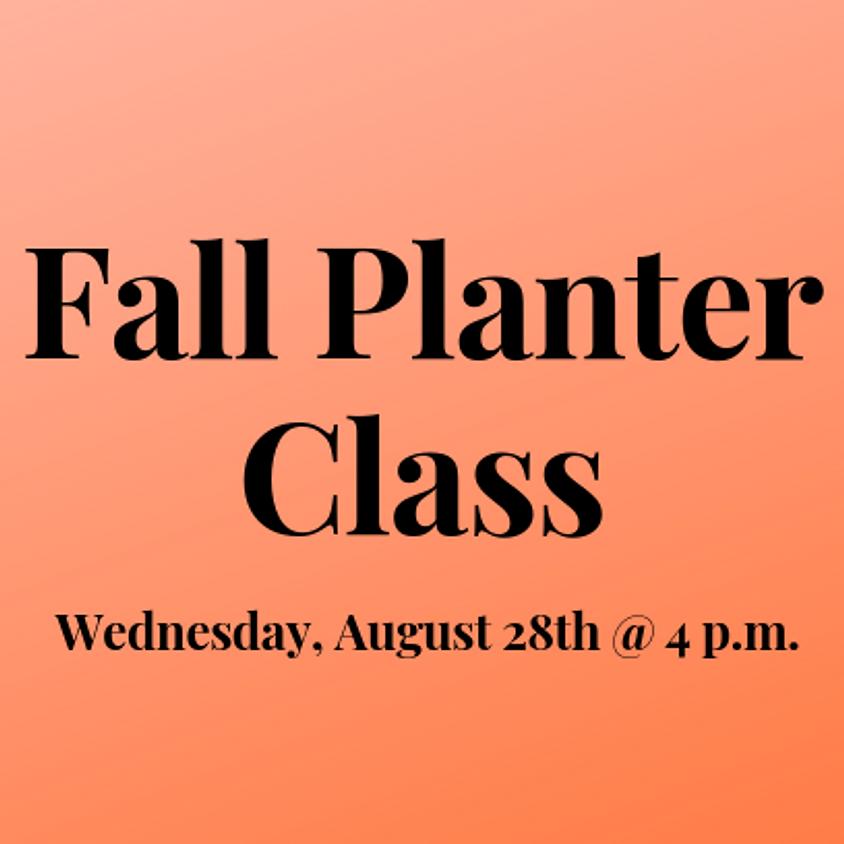 Fall Planter Class