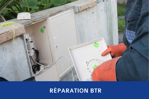 Réparation BTR