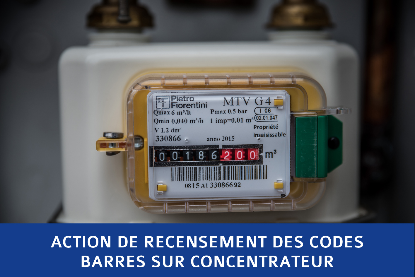 Recencement des codes barres