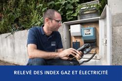 Relève gaz et électricité