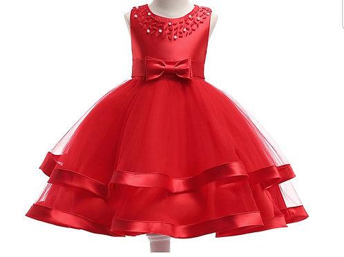 Flower Girl/ Princess Puff Dress