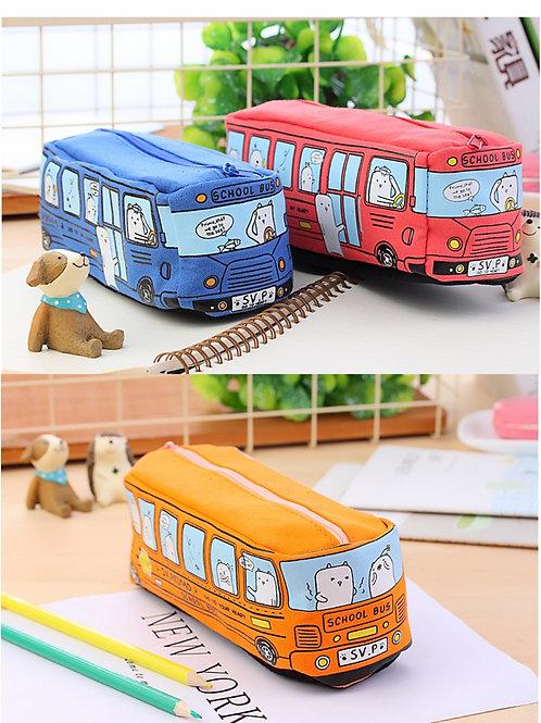 Small animals Bus pencil case
