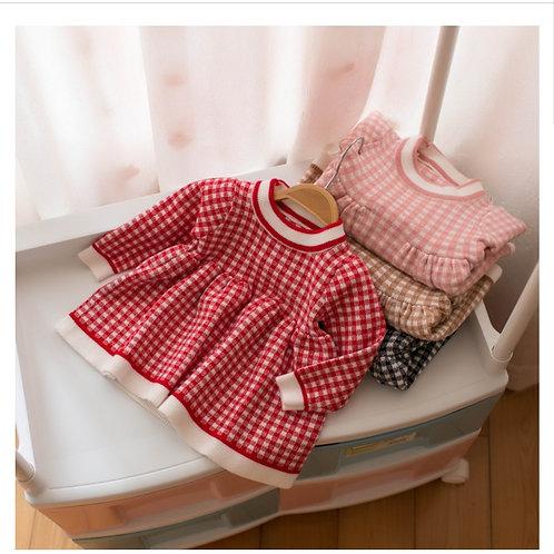 Lattice Pattern Princess Dress