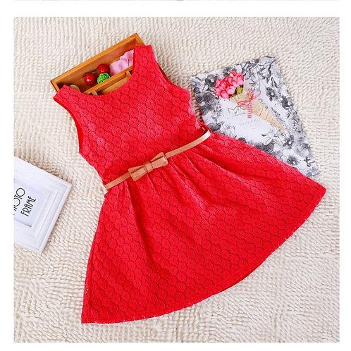 Chiffon & Hollow Summer Dress