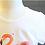 Thumbnail: Girl's Cartoon Two-piece T-Shirt & Skirt