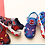 Thumbnail: Boys Spiderman Cartoon Summer Shoes