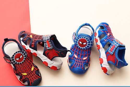Boys Spiderman Cartoon Summer Shoes