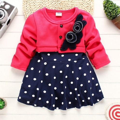 Two-Piece Baby Girl Dress