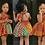 Thumbnail: African Bohemian style strapless dress