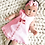 Thumbnail: Girls Sleeveless Bow Skirt Two-piece Set Dress