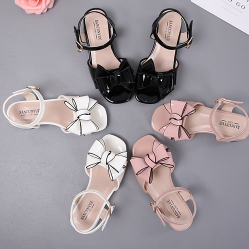Girls Baby Bow Sandals