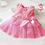 Thumbnail: Princess Mesh Sleeveless Bow Baby Dress