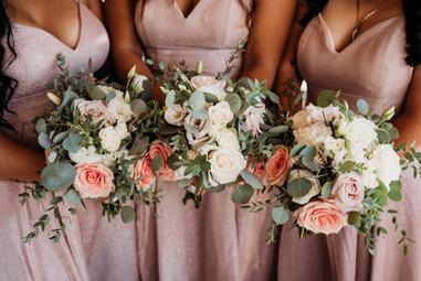 Bride's maids flowers