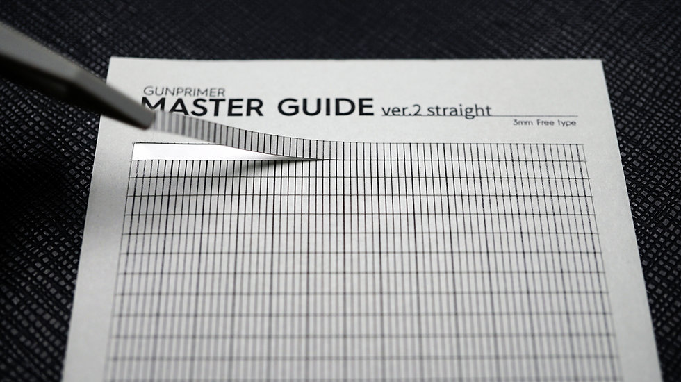 MASTER GUIDE 2.0 (3mm x Free type)