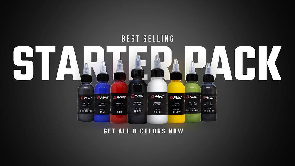 G PAINT STARTER PACK (8 Colors)
