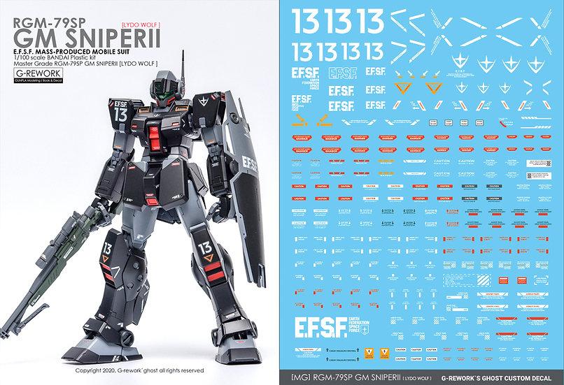 [MG] RGM-79SP GM SNIPER2 [LYDO WOLF]