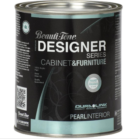 This Was My Experience Painting a Desk with Beauti-Tone Designer Series Cabinet & Furniture Pain