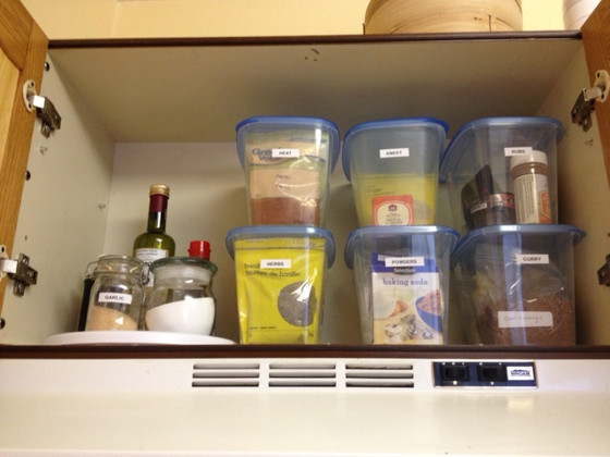 SPICE CUPBOARD (The After)