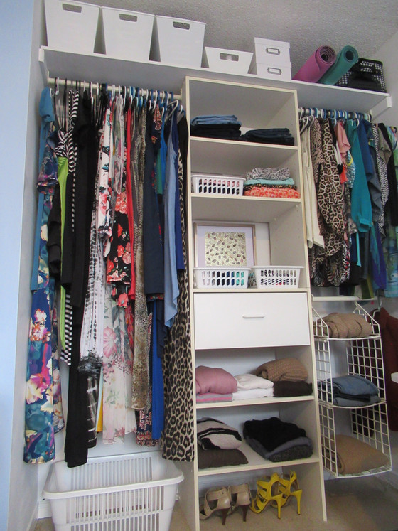 BEDROOM CLOSET (The After)