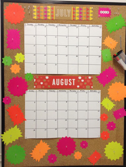 Kids' Fun Summer Calendar
