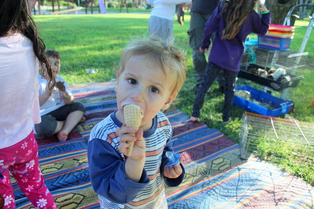 גם גלידה הייתה
