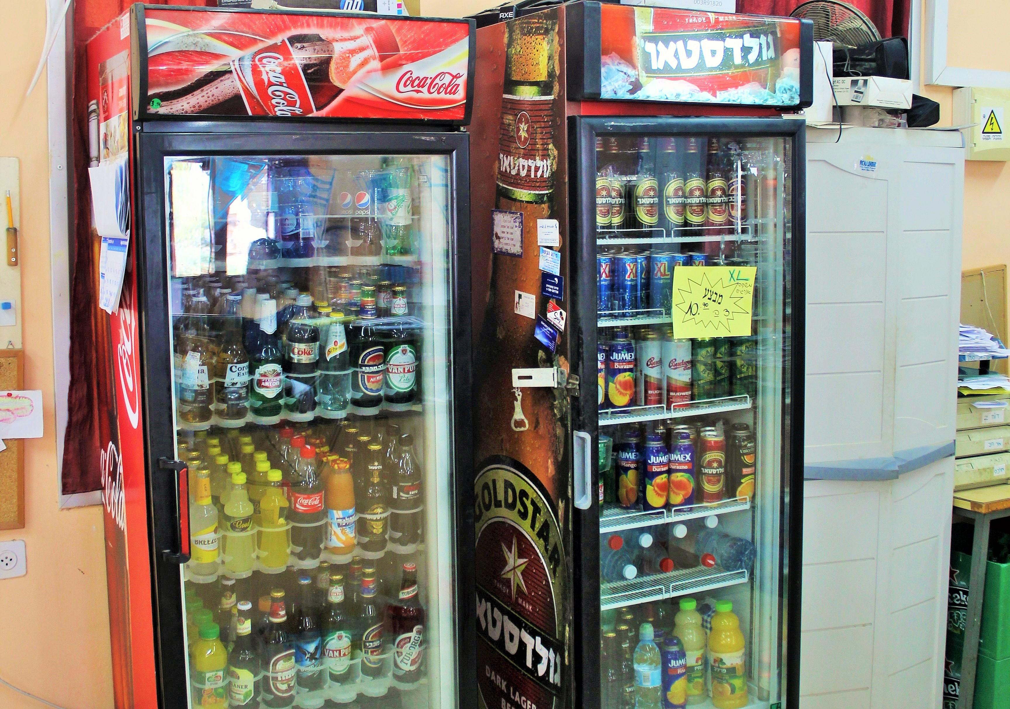 מקרר השתיה והבירה