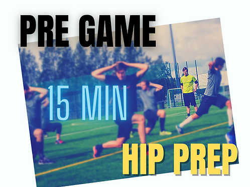Pre Game Hip Prep