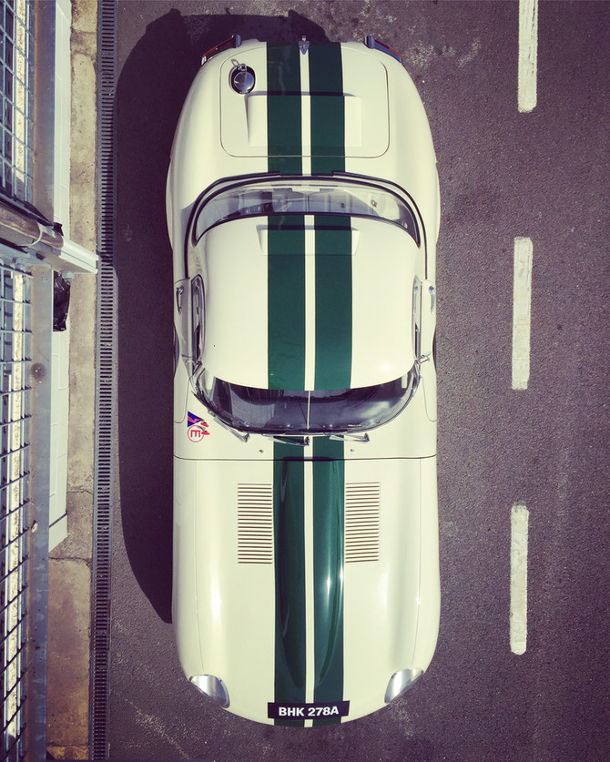 Goodwood Test - Jaguar E-Type