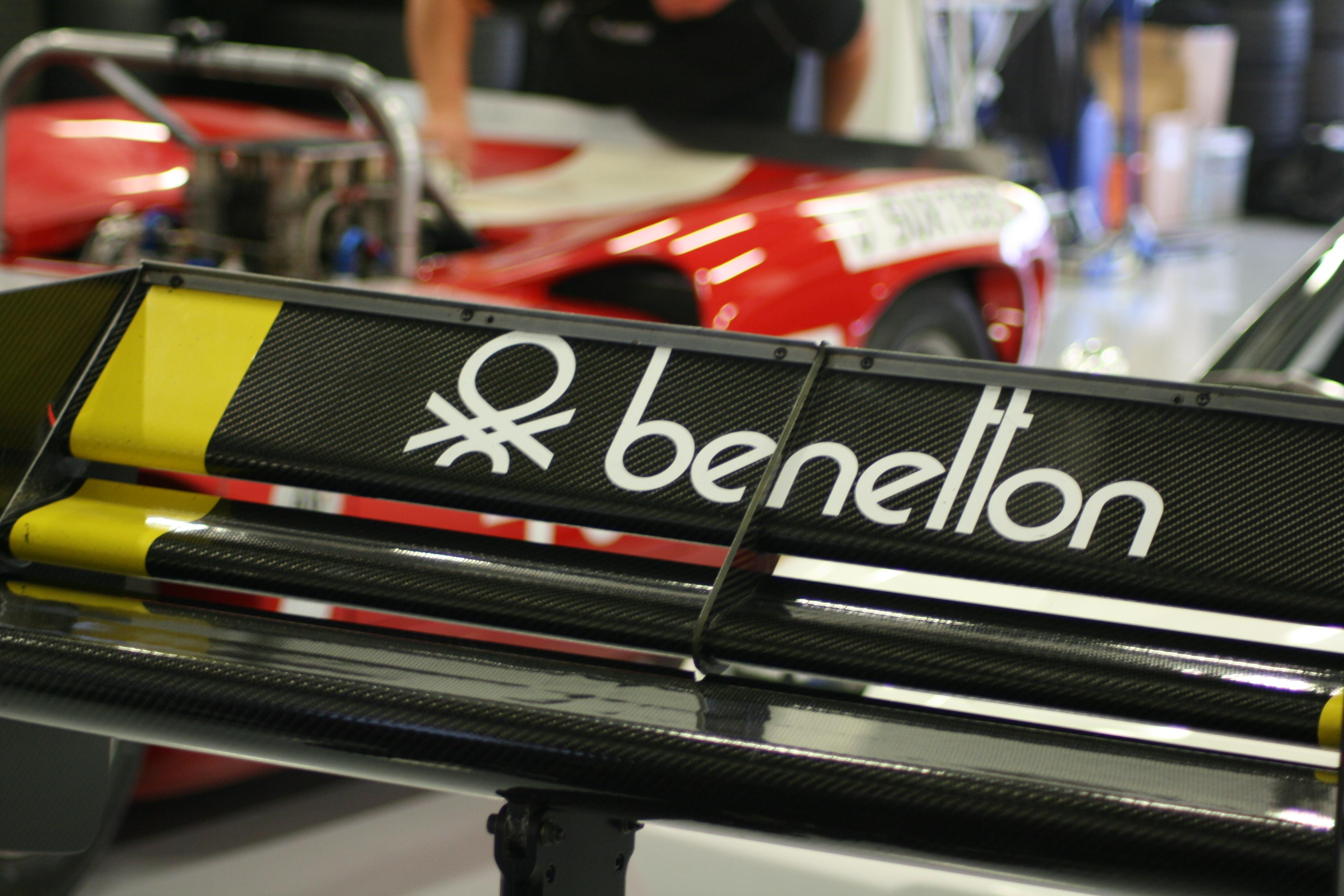 Ian Simmonds' Tyrrell 012