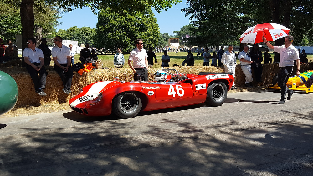 Mike Whitaker Goodwood Festival of Speed
